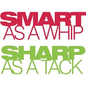 sharp as a
