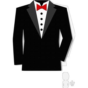 Silhouette Design Store View Design 10915 Tuxedo Shape