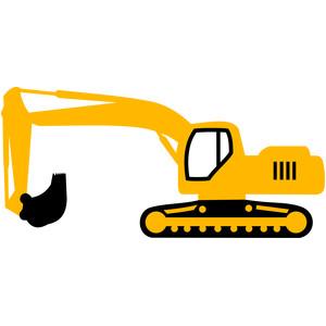 Silhouette Design Store View Design 113515 Excavator