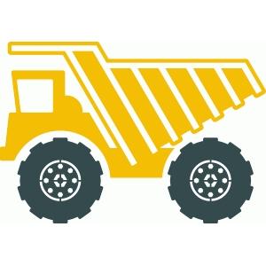 Silhouette Design Store View Design 40415 Dump Truck