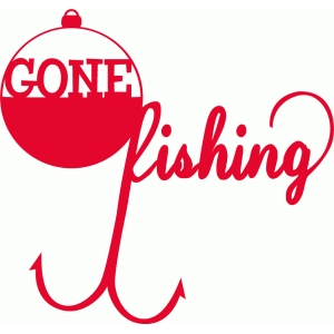 Silhouette Design Store View 60715 Gone Fishing