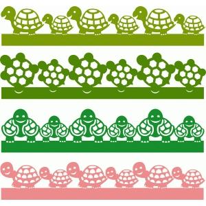 Silhouette Design Store - View Design #60825: turtle ...