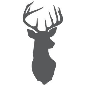 Silhouette Design Store View Design 116235 Deer Head