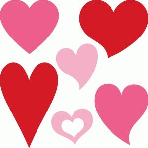 6 hearts Design ID #54935