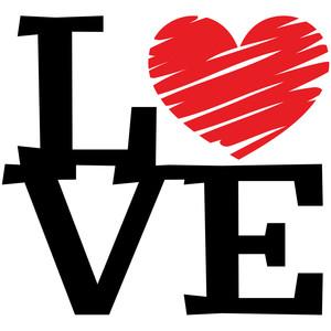 Download Silhouette Design Store - View Design #250945: love scribble