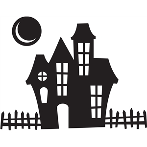 Silhouette Design Store View Design 32445 Haunted House