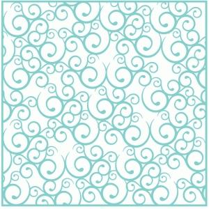 Silhouette Design Store - View Design #84245: fancy swirl ...