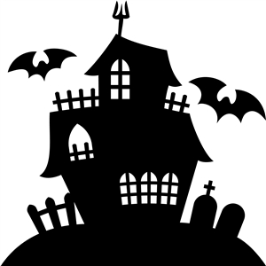 Silhouette Design Store View Design 21365 Haunted House