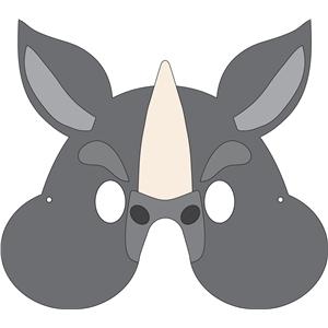 Silhouette Design Store View Design 32565 Rhino Mask