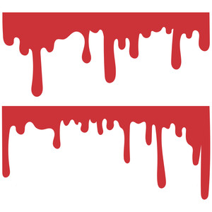 Silhouette Design Store View Design 223575 Blood Drips