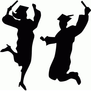 Silhouette Design Store - View Design #77675: graduates ...