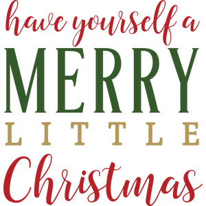 silhouette design store view design 222885 have yourself a merry little christmas