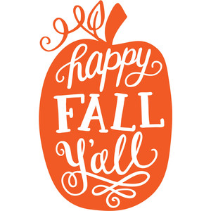 photo relating to Happy Fall Yall Printable identified as Silhouette Style and design Keep - Impression Structure #218316: joyful tumble y