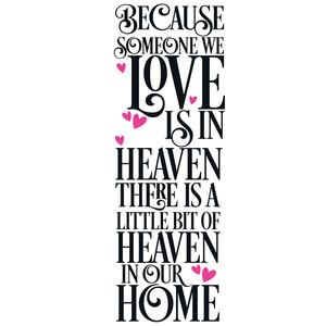 Silhouette Design Store View Design 236716 Someone We Love In Heaven Quote