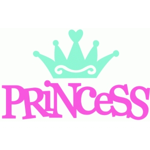 Silhouette Design Store View Design 42916 princess crown