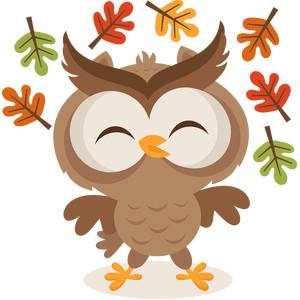 Silhouette Design Store - View Design #153526: fall owl ...