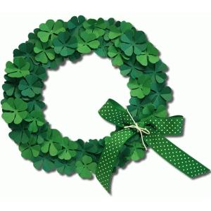 Silhouette Design Store View Design 55956 3d Clover Wreath