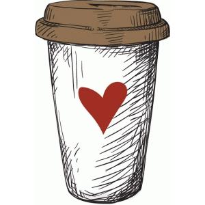 Silhouette Design Store View Design 73656 cb coffee cup