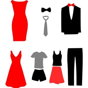 Silhouette Design Store View Design 8156 Clothes Dress Suit