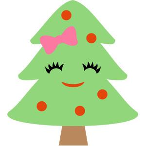 silhouette design store view design 226866 cute christmas tree