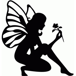 Silhouette design store view design 66376 flower fairy for Fairy cut out template