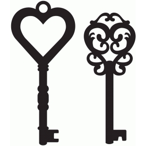 Silhouette Design Store - View Design #36996: antique keys