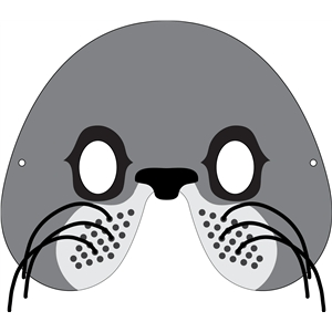 Silhouette Design Store - View Design #32907: sea lion mask