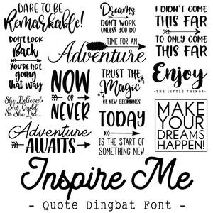 Silhouette Design Store - View Design #272017: inspire me