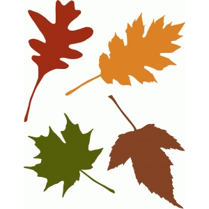 Silhouette Design Store View Design 49017 Autumn Leaves