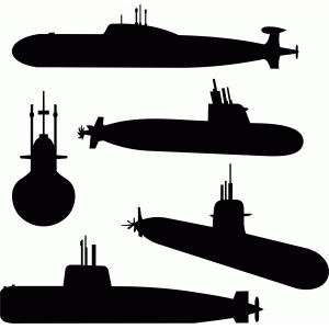 Silhouette Design Store View Design 83817 submarine set