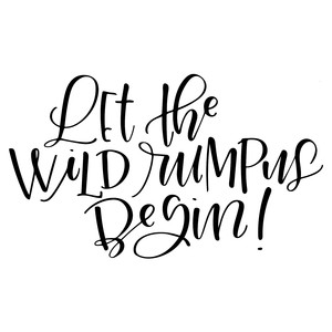 graphic relating to Let the Wild Rumpus Start Printable called Silhouette Style Retail outlet - Watch Design and style #116937: permit the wild