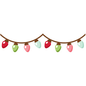 silhouette design store view design 165937 christmas lights banner