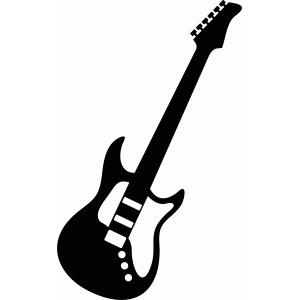 Silhouette Design Store View Design 53247 Guitar
