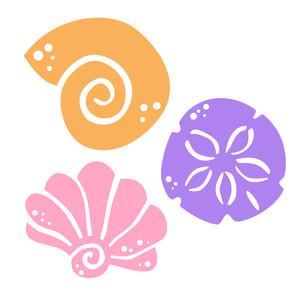 Silhouette Design Store View Design 128657 Shells