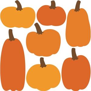 Silhouette Design Store View Design 22357 7 Pumpkins