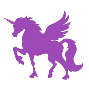 Silhouette Design Store View Design 272857 Unicorn Pegasus