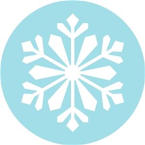 Silhouette Design Store View Design 13077 Snowflake In