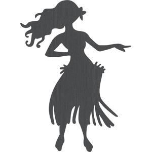 silhouette design store view design 1408 hula dancer