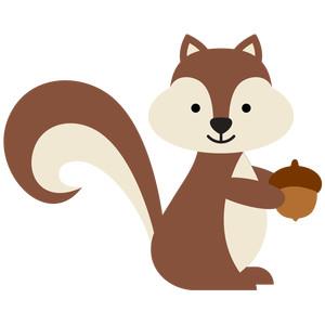 Silhouette Design Store View Design 146708 Squirrel