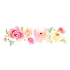 Silhouette Design Store View Design 212908 Watercolor Flower