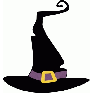 cute witches hat clipart