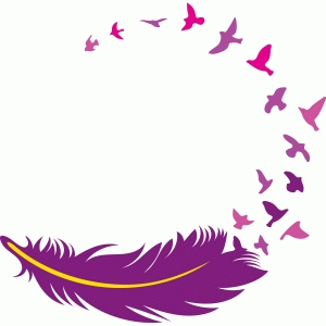 Silhouette Design Store View Design 78228 Feather With