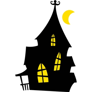 silhouette design store view design 4148 haunted house. Black Bedroom Furniture Sets. Home Design Ideas