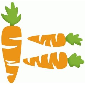 Silhouette Design Store View Design 75948 Carrot Set