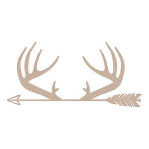 silhouette design store view design 166558 antlers arrow