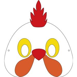 Silhouette Design Store View Design 31958 Chicken Mask