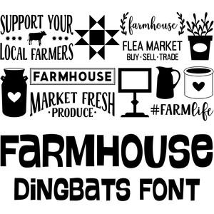 Silhouette Design Store - View Design #227378: farmhouse
