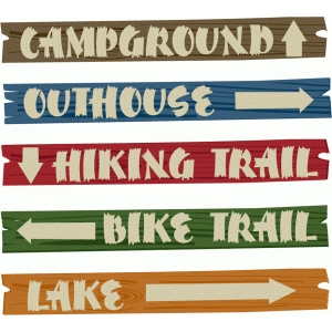 graphic relating to Printable Camping Signs referred to as Silhouette Layout Shop - Opinion Structure #61019: outside