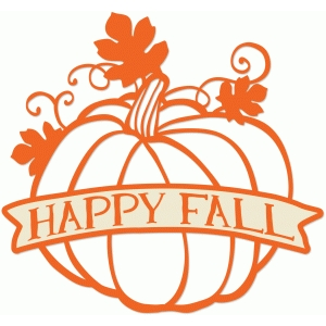 Silhouette Design Store - View Design #65819: happy fall ...