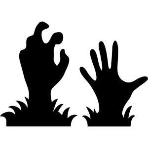 Silhouette Design Store View Design 223629 Zombie Hands